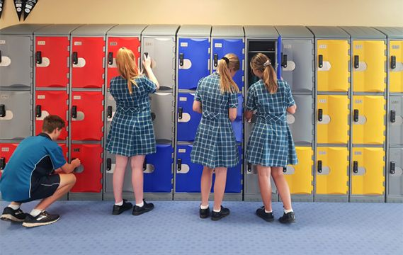 St Joseph's School Locker Fitout